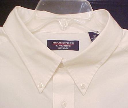 New White Short Sleeve Button Front Dress Shirt Size 4XT 4XLT Big Tall Mens Clothing 811111