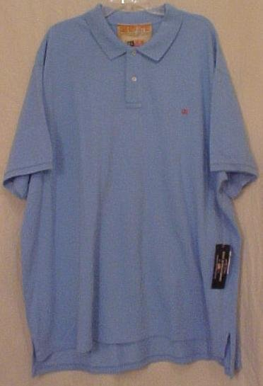 NEW Polo Jeans Casual S/S Golf Shirt Size 4X 4XL Big Tall Mens Clothing 913601