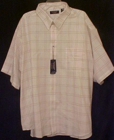 Big Mens Casual S/S Button Down Shirt Size 4X 4XL - 913941