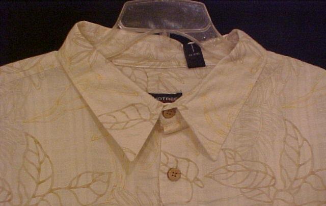 Big Mens Casual S/S Button Down Shirt Size 4XT 4XLT -  913971