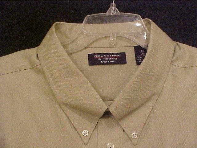 Big Mens Casual S/S Button Down Shirt Size 4X 4XL - 914001
