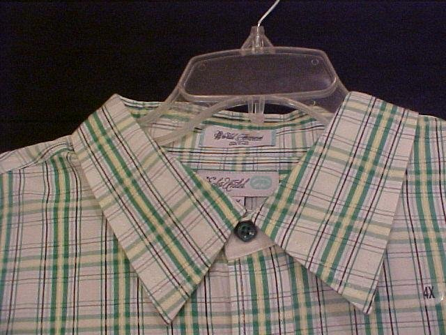 Ecko Unltd. Button Down Casual S/S Shirt Size 4X 4XL Big Mens Urban Wear - 914051