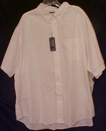 Button Down Casual S/S Shirt Size 4X 4XL Big Mens Clothing - 914031