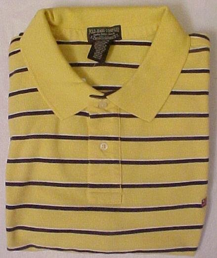 New Polo Jeans Company Ralph Lauren Polo Golf Shirt S/S Size 3XL 3X Big Men's Clothing 811881