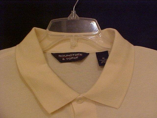 Cloud Cream Polo Golf Shirt S/S Size 3X 3XL Big Mens 914341