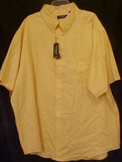 Button Down Causal S/S Shirt Size 4XT 4XLT Big Mens 914371