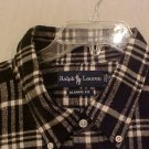 NEW Button Down Casual Ralph Lauren Shirt L/S 2XB 2XL 2X Big Mens Clothing 810911