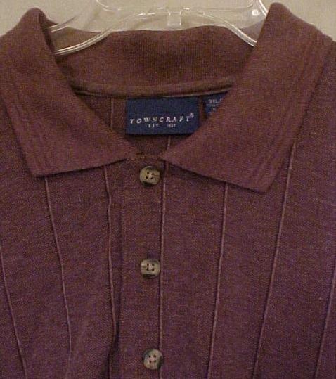 Big Mens Clothing Pullover L/S Shirt Size 3X 3XL 3XB - 915181