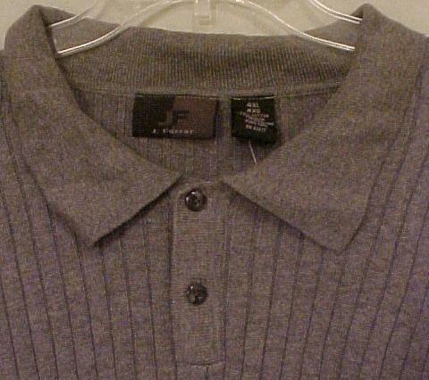 Big Mens Clothing J Ferrar Pullover L/S Polo Shirt Size 4X 4XL 4XB 915191