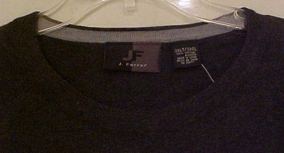 Big Mens Clothing J. Ferrar Knit Pullover L/S Shirt Size 3XT 3XLT - 915241