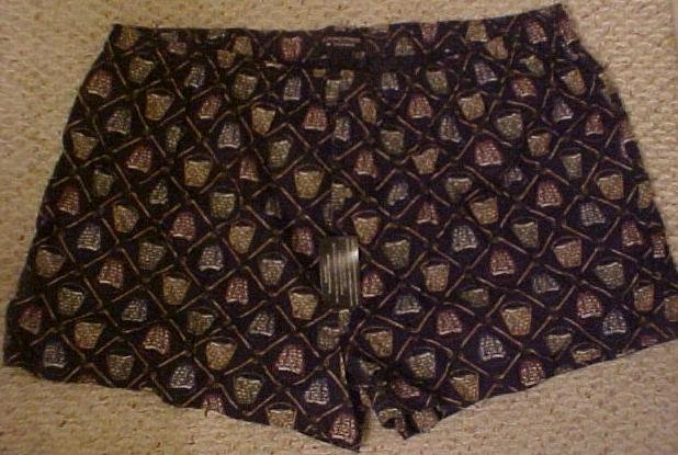 Big Mens Roundtree & Yorke Golf Print Flannel Boxers Size 4X 4XL 4XB 915381