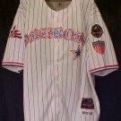 PNLPA Detroit Stars Striped Jersey 8 Negro Baseball 5XL 916011