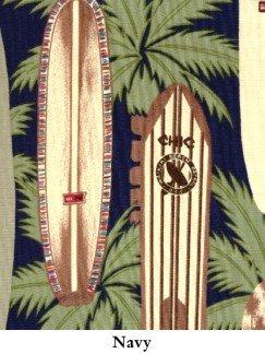 NEW Reyn Spooner Hawaiian Shirt Longboards Big & Tall 3X 3XL Big Tall Mens Clothing 916481