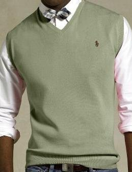 New Polo Ralph Lauren Pull Over V Neck Sweater Vest 2XL 2X 2XB Big Tall Mens Clothing 916391