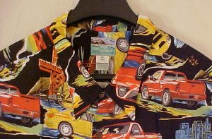 NEW Reyn Spooner Hawaiian Shirt Dodge SRT 4XLT 4XT 4LT  Big Tall Mens Clothing 919381