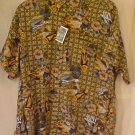 NEW Reyn Spooner Hawaiin Shirt Beach Matt Print 4XL 4XB 4X  Big Tall Mens Clothing 919531