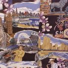 NEW Reyn Spooner Hawaiian Shirt Windy City Chicago Print 5XL 5XB 5X  Big Tall Mens Clothing 919471