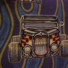 Big & Tall Old School Hot Rod Print Reyn Spooner Hawaiian Aloha Shirt 6X 6XL 6XB - 919291