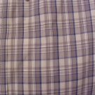 Big Tall Mens Button Down Casual S/S Plaid Shirt Size 3XT 3XLT 3LT 918531
