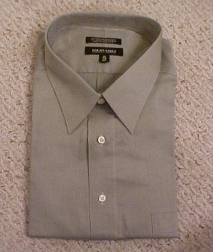 murano button front long sleeve dress shirt 19 34 big
