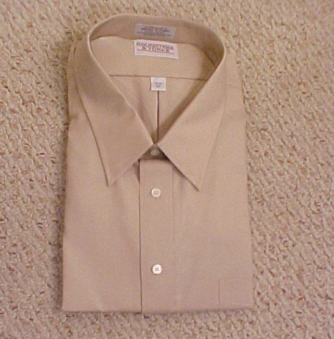 Roundtree Yorke Button Front Long Sleeve Dress Shirt 20