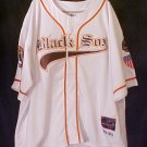 PNPA Baltimore Black Sox White Jersey 29 Negro Baseball 4XL 4X Big Tall Mens Clothing 918711