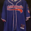 PNLPA Indianapolis Indy Clowns Jersey 20 Negro Baseball 4XL 4X Big Tall Mens Clothing 919011
