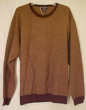 Daniel Cremieux Long Sleeve Crew Neck Sweater $145 XT XLT Big Tall Mens Clothing 811211