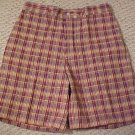 New Austin Reed Men&#39;s Plaid Shorts Waist Size 33 Mens Clothing 920190