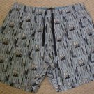 Boxers Sleepwear Surf Board Jammies Pajama PJ's Shorts Size 1X Big Tall Mens Clothing 918591