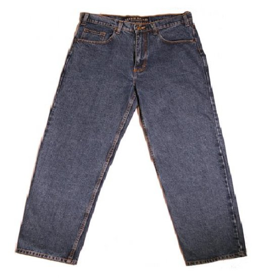 Grand River Classic Jeans Blue 34 X 36 Tall Mens Size Clothing 181-34-36