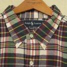 New Ralph Lauren Short Sleeve Button Front Shirt Size 3XLT 3XT 3LT Big Tall Men's Clothing 920510-5