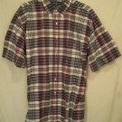 New Ralph Lauren Short Sleeve Button Front Shirt Size 4XL 4XB 4X Big Tall Men's Clothing 920520