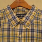 New Ralph Lauren Short Sleeve Button Front Shirt Size 4X 4XL 4XB Big Tall Men's Clothing 920570 2