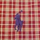Ralph Lauren Button Down Plaid Shirt Long Sleeve 4X 4XL 4XB Big Tall Mens Clothing 921101 4