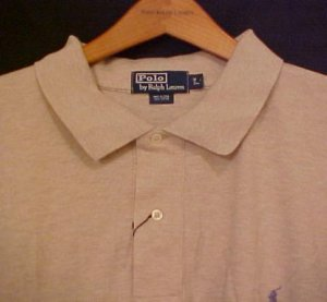 Tan Polo Ralph Lauren Long Sleeve Polo Shirt  4XLT 4XT 4XLT Big Tall Mens Clothing 921261 2