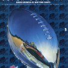 Super Bowl XXI January 25, 1987 Official Game Program Unsigned Excellent New Condition
