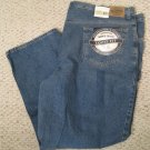 Stonewash Blue 5 Pocket Jean 54 X 30 Big & Tall Roundtree & Yorke 922251 2