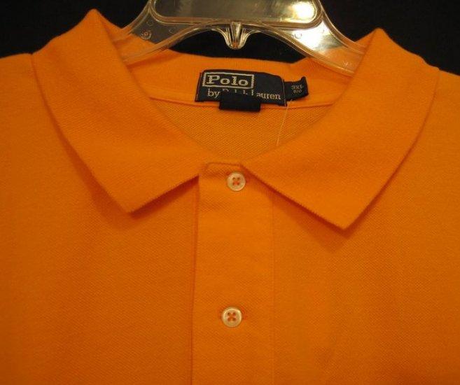 Bright Orange Ralph Lauren Polo Golf Mesh Shirt S/S Size 3XL 3X 3XB Big Men's Clothing 922501 2