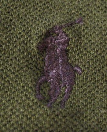 Moss Polo Ralph Lauren Long Sleeve Polo Shirt 3X 3XL 3XB Big Tall Mens Clothing 922531