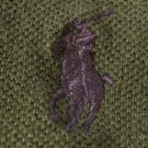 Moss Polo Ralph Lauren Long Sleeve Polo Shirt 3X 3XL 3XB Big Tall Mens Clothing 922531