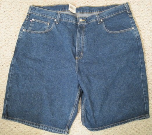 Ralph Lauren Polo Jeans Company Banner Denim Shorts 50 Big Tall Mens Clothing 922831