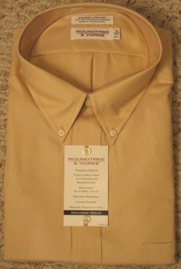 New Golden Button Down Shirt 19 - 34 BIG Men Clothing 922911