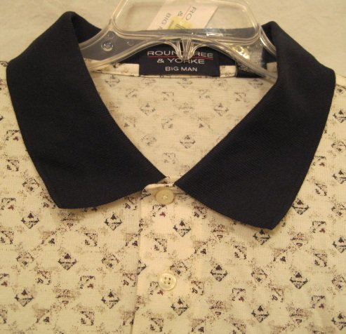 Baseball Style Polo Golf Shirt S/S Size 3XL 3X 3XB Big Men's Clothing 922961 2