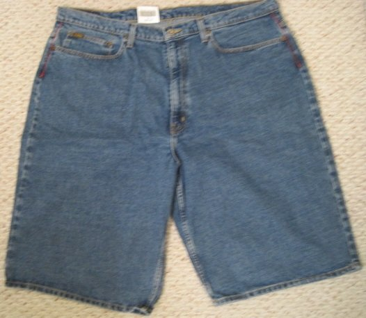 Ralph Lauren Polo Jeans Company Banner Denim Shorts 42 44 Big Tall Mens Clothing 924251