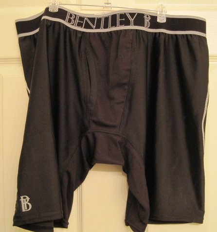 New Black Compression Underwear Boxers Size 4XL Big Tall Men's Clothing 924861