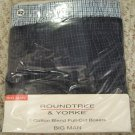 New 2 pack Full Cut Boxers Size 52 Big Tall Men's Clothing 924501