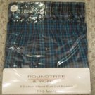 New 2 pack Full Cut Boxers Size 52 Big Tall Men's Clothing 924511 2