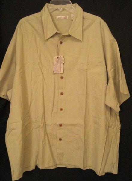 new sleeve button front shirt 3xl 3x 3xb big