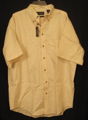 Tall mens button down casual s s shirt size xlt xt 927391 for Mens tall button down shirts